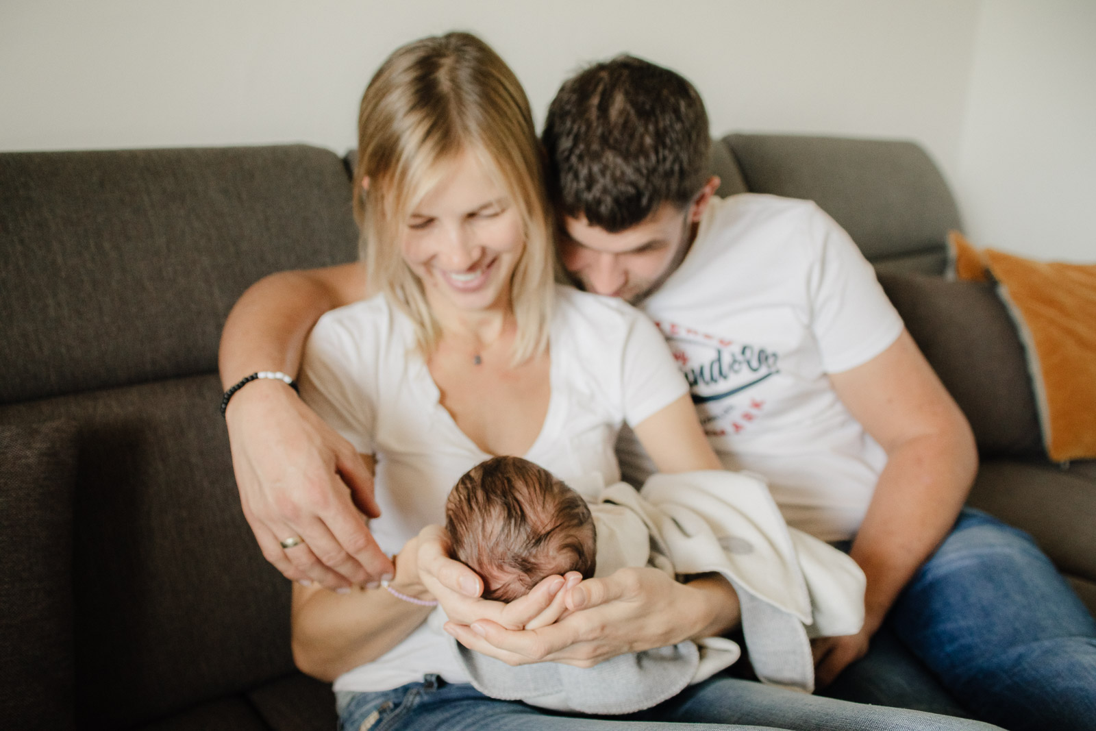 Newborn Session Pure Babyfotografie die Lichtzeichnerin Homestory